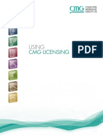 A Guide to Using CMG 2015 Licensing