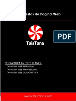 Propuestas de Pagina Web