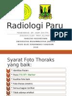 Radiologi Paru