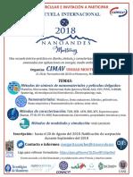 1a Circular_escuela Nanoandes 2018 Monterrey
