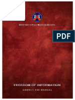 DPWH Freedom of Information ( FOI )Manual