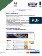 Instructivo Inscripciones Actualizado PDF