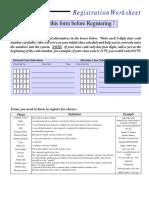 Reg Worksheet