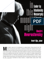 Dmitri Hvorovsky - In This Moonlit Night; Lieder by Tchaikovsky, Taneyev