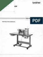 Brother CB3-B917-BA-10 Instruction Manual