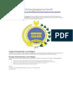 Uraiantugas.com - Tugas Dan Fungsi Kementerian Luar Negeri RI