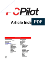 pc pilot index