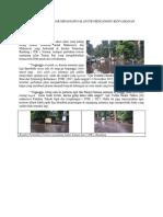 Perbaikan Trotoar Sepanjang Jalan Itb Menganggu Kenyamanan