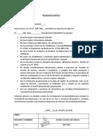 Declaraciones Juradas CAP CAS