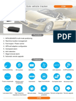Drive and  record the behaviour of your car with cheap gps tracker vt06 by ThinkRace India