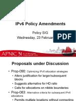 Ipv 6 Summary