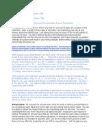 Sample Leave Restriction Letter