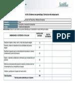 escala de evaluación EA U1