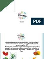 PREZENTARE terarium PRODUSE  bio + smoothies Ro -2017- ROMANA