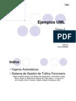 5.1 Ejemplos UML