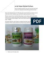 Obat Tumor Paru de Nature Herbal Terbaru