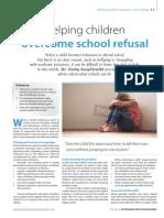 Helping Children Overcome School Refusal