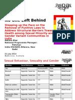 Aids2014 Allianceindia Punitive Laws Revised