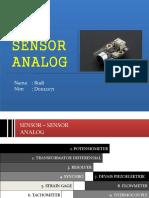 sensor analog