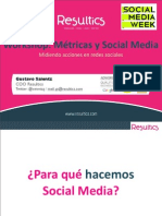 Workshop Metricas y Social Media