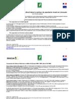 L'emploi direct dans le secteur du spectacle vivant en Limousin (09/2010)