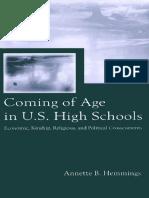 [Annette B. Hemmings] Coming of Age in U.S. High S(B-ok.xyz)