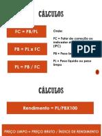 Calculos de Ficha Técnica Básica