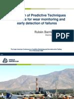 Application of Predictive Techniques
