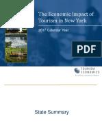 NYS Tourism Impact 2017