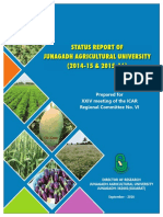 Status Report 2016