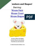 Colores, números y formas Fichas infantiles