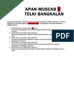 2. Ketetapan Muscab II Dpc Bangkalan