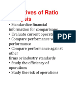 Objectives of Ratio Analysis
