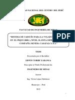 Geomecanica para el diseño de malla de perforacion en piques