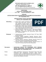 8.4.3.2 Sk Sistem Pengkodean, Penyimpanan, Dokumentasi Rekam Medis