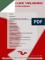 Ruimtelijke Veiligheid & Risicobeleid Nr. 2 (Jrg-1)