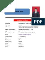 CV Dimas Agung S2 Pengembangan SDM UNAIR