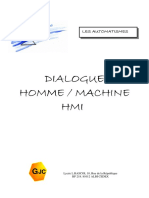 Dialogue Homme Machine HMI