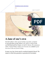 A Jane of one's own - essay