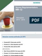 10 Alterações Na NR12