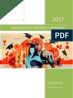 Bangladesh University Ranking