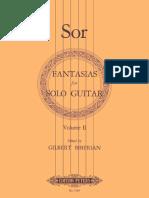 Sor Fantasias for solo guitar Vol 2.- edited by Gilbert Biberian.pdf