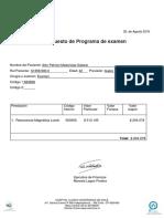 Presupuesto Medico Alex Madariaga Salazar