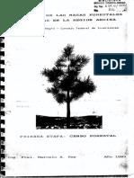 Rey -CFI- 1993 - Evaluación de Las Masas Forestales Implantadas en La Región Andina. Primera Etapa Censo Forestal