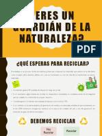 Charla Ecológica - Presentación Power Point