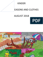 KINDER - Unit 5 Seasons and clothes - Agosto -.ppt