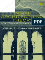 Indian Architectural Theory Contemporary