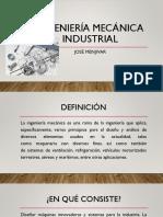 Ingeniería Mecánica Industrial