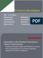 20th Century Ideologies