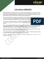 PBAE Advisory 08082018